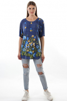 Блуза с цветами Bast